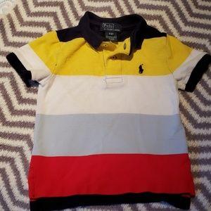 Boys multi-colored Polo